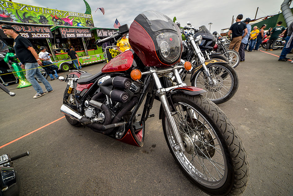 V-Twin Visionary Performance Motorcycle Show at the Sturgis