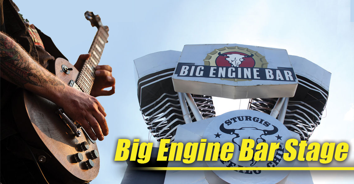 The Big Engine Bar Stage is your source for two weeks of awesome August music festival entertainment