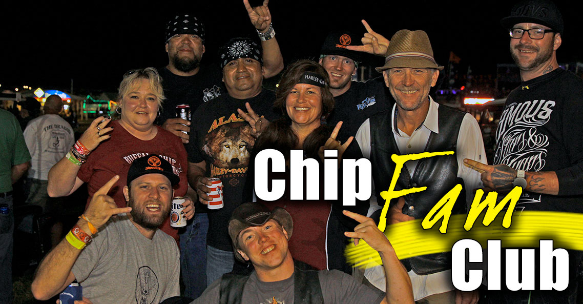 Chip Fam Club Gives Sturgis Buffalo Chip Family More when they Come Home