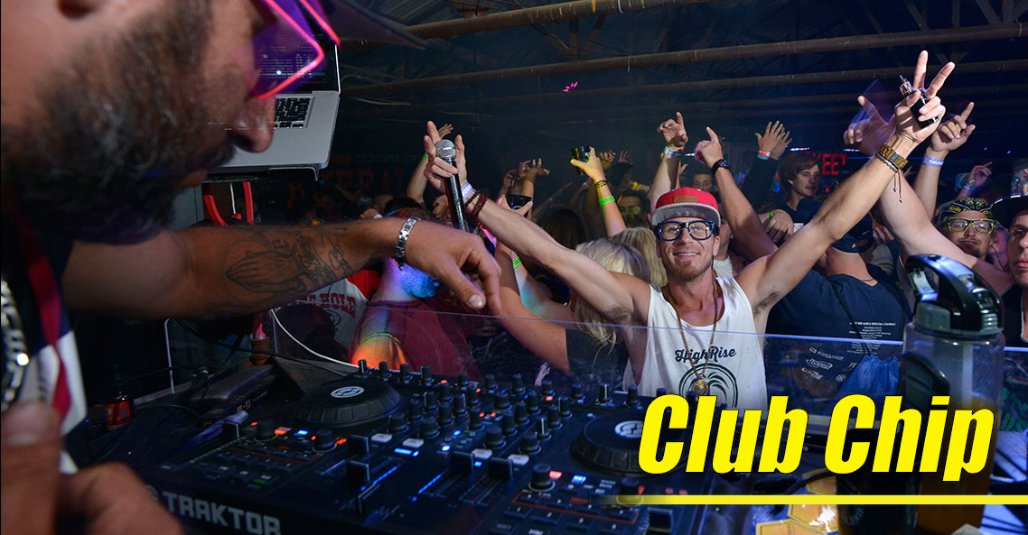 Club Chip Brings Nightclub Atmosphere to August Music Festival