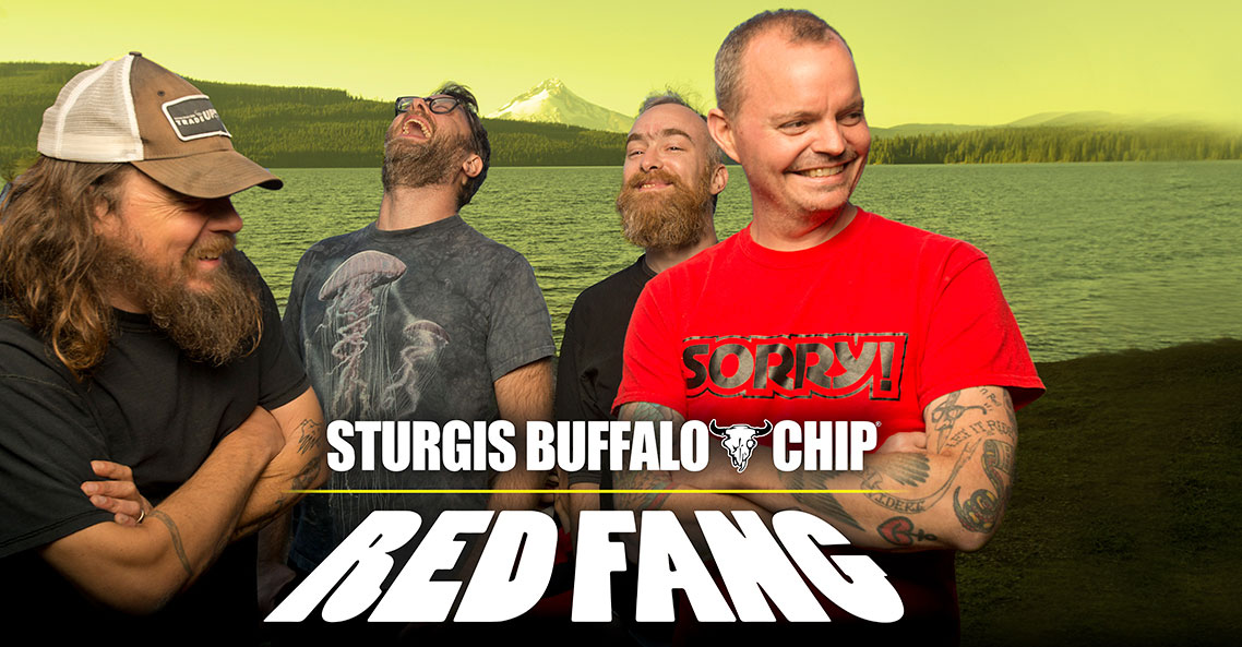 Red Fang to rock alongside Volbeat at the Sturgis Buffalo Chip on Friday, Aug. 9.