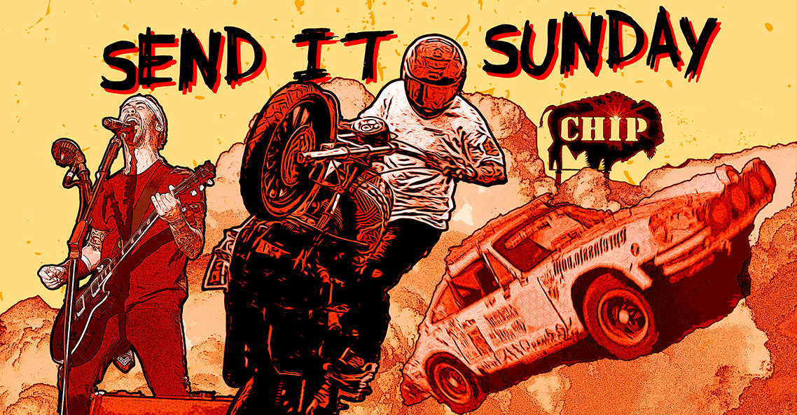 Send It during Send It Sunday at the Sturgis Buffalo Chip CrossRoads, Sunday, Aug. 4