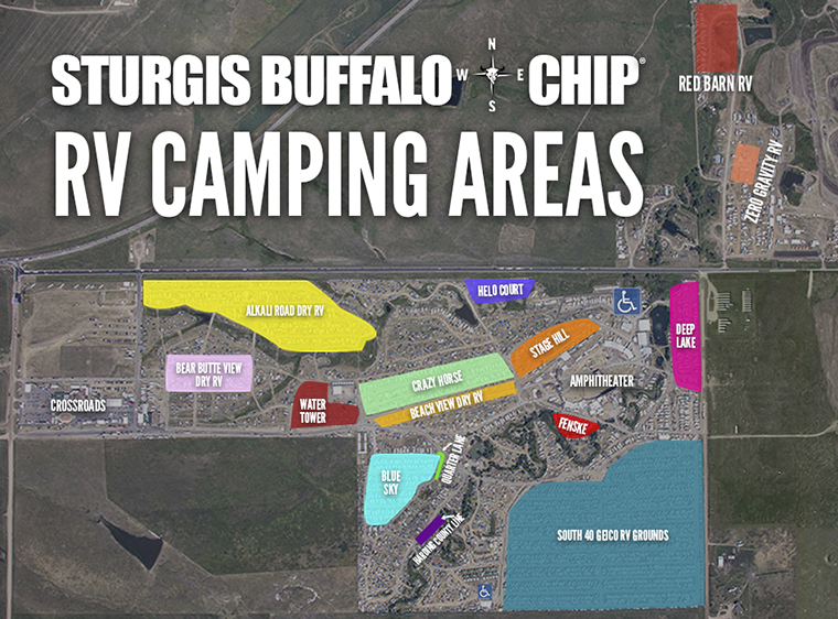Sturgis Buffalo Chip® RV Camping on map of north georgia campgrounds, map of north dakota casinos, map of north dakota airports,