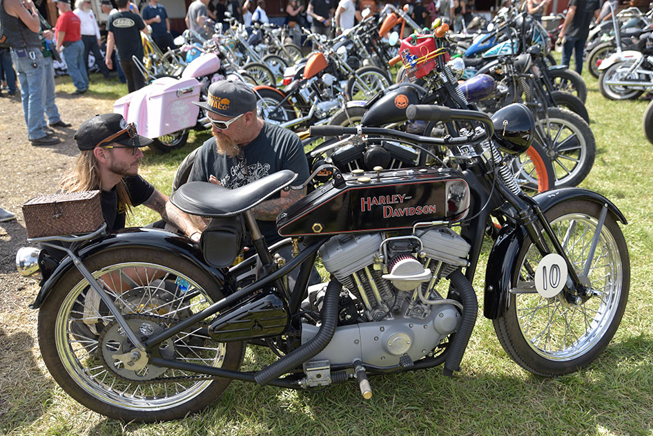 The Sportster Show Down showcases some of the coolest rides of the Sturgis Motorcycle Rally Tuesday, Aug. 6.