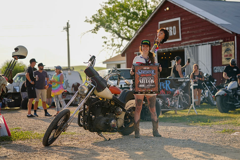 he Sportster Showdown showcases some of the coolest rides of the Sturgis Motorcycle Rally