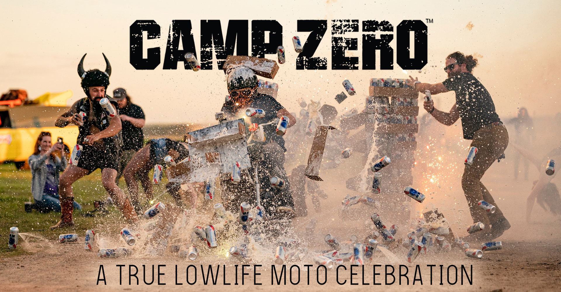 Forget what you know about the Sturgis Motorcycle Rally and start at zero�CAMP ZERO.
